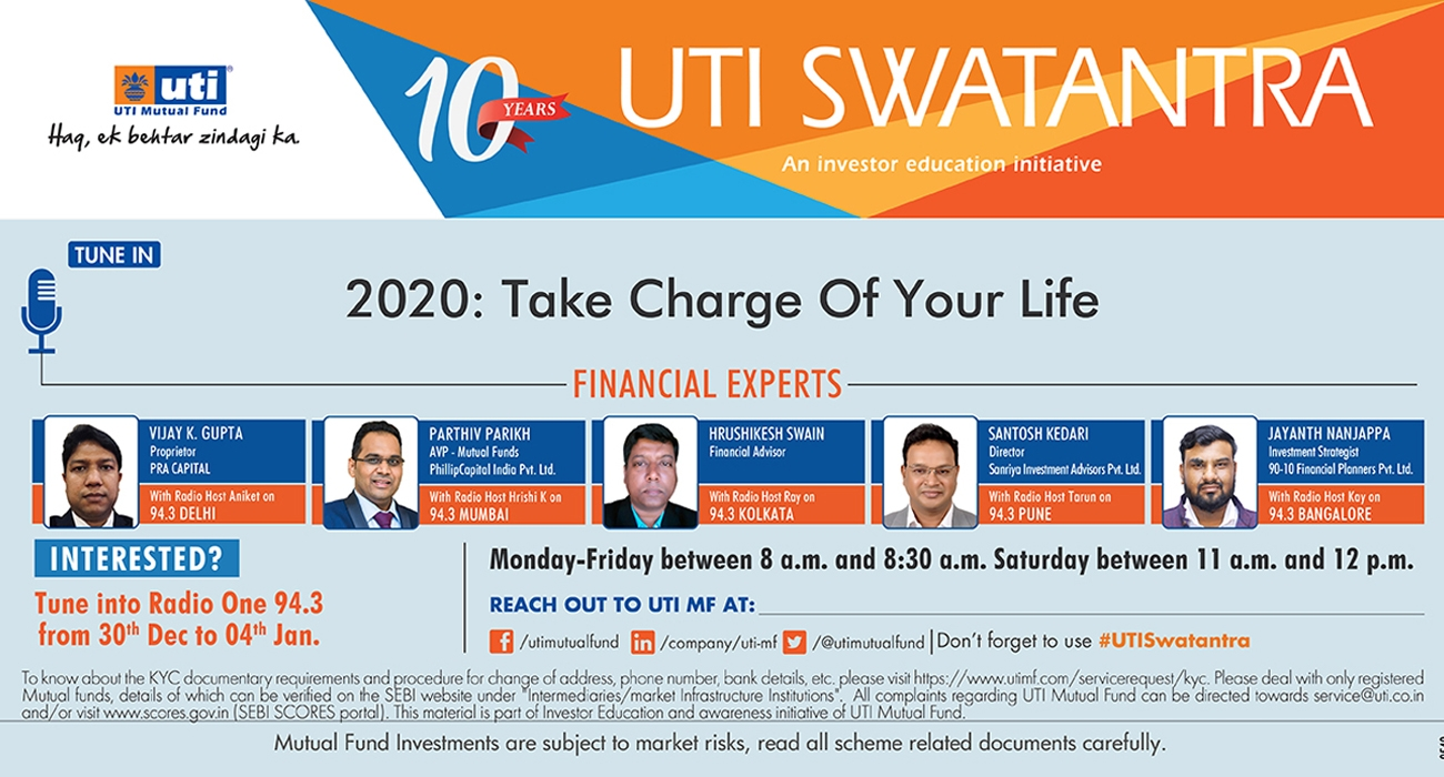 Take charge of your life - UTI Swatantra